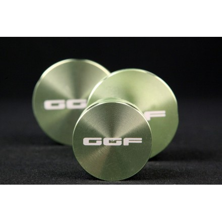 Grinder in metallo GGF 62mm 4 parti
