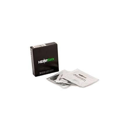 3 Preservativi HempSex 50 ml