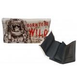 Portatabacco Born to be Wild in ecopelle