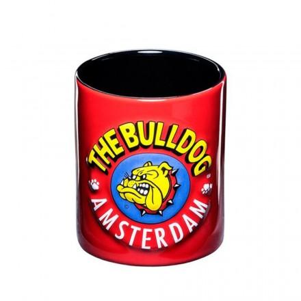 Tazza in ceramica con manico The Bulldog Amsterdam Grafica 3D