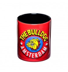 Tazza in ceramica con manico The Bulldog Amsterdam Grafica 3D