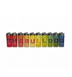10 Accendini The Bulldog Amsterdam  Mini Lettere ricaricabili a gas