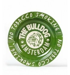 Posacenere The Bulldog Amsterdam in metallo No Tobacco Smoking