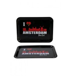 Impastiera rettangolare I Love Amsterdam 18x14 cm