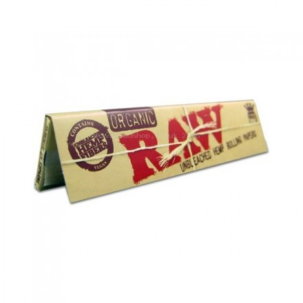 Raw Organic Hemp Slim Size