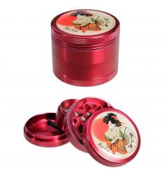 Grinder Geisha Black Leaf 50mm 4 parti