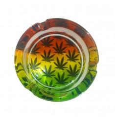 Posacenere in vetro Cannabis