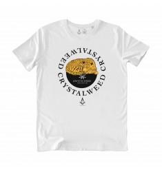 T-shirt bianca Crystalweed
