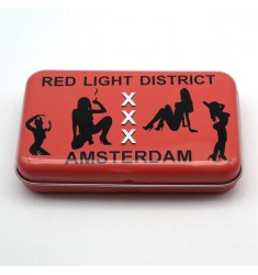 Scatola in latta Red Light District Amsterdam