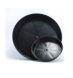 Sottovaso Tondo nero per vaso da 30L