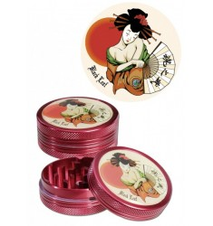 Grinder Geisha Black Leaf 50mm 4 parti