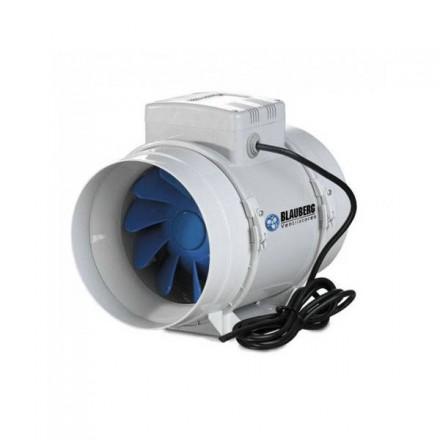 Estrattore d'aria Blauberg BI-Turbo 12,5cm + cavo - 250m3/h