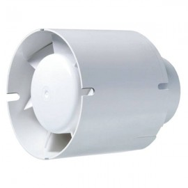 Estrattore in linea Blauberg tubo - 12,5cm 195 m3/h