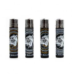 4 Accendini Clipper Inca The Bulldog Amsterdam ricaricabile a gas