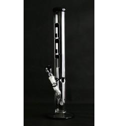 Cilindro Bong GGF in vetro serie Black