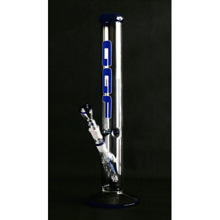 Cilindro Bong GGF in vetro serie Blue