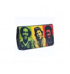 Portatabacco Bob Marley & Friends in ecopelle